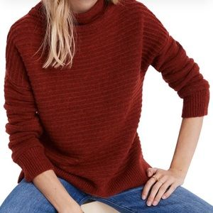 Madewell Red Belmont Sweater **Read Description**
